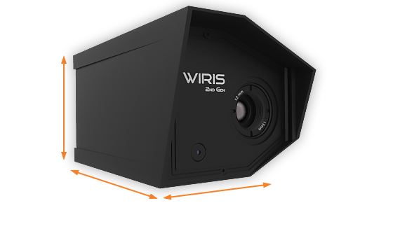 WIRIS 2nd gen dimensions