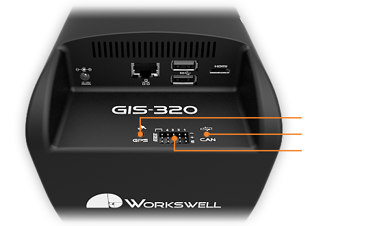 Communication of gas camera Workswell GIS 320