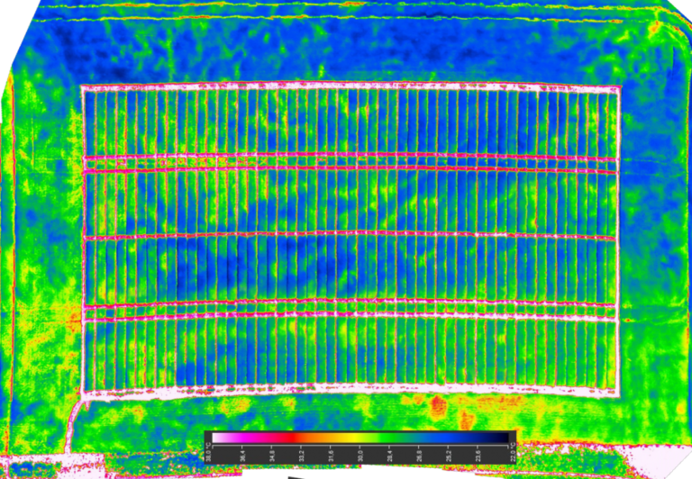 💧 Detection of Water Stress in Cereals Using the 📸 UAV Thermography
