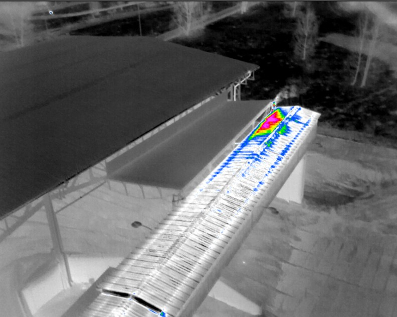 Thermodiagnostics Of Flat Roofs 🏢 With Infrared Camera For Uav