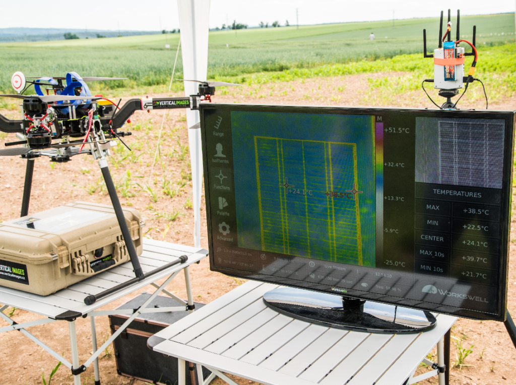 Using the UAV Thermography for Cultivation 🌱 and
