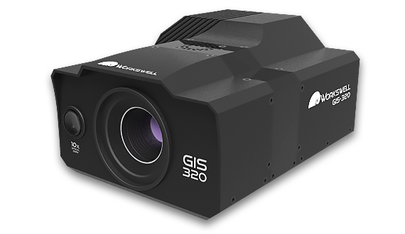 📸 Gas imaging thermal camera Workswell GIS-320