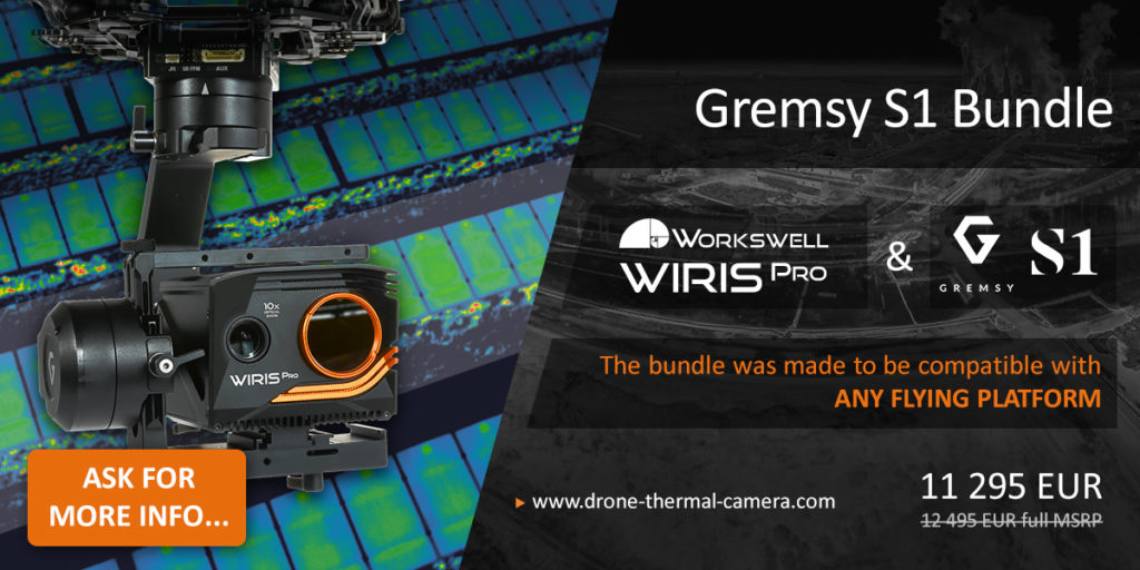 Workswell Wiris Pro + Gremsy S1