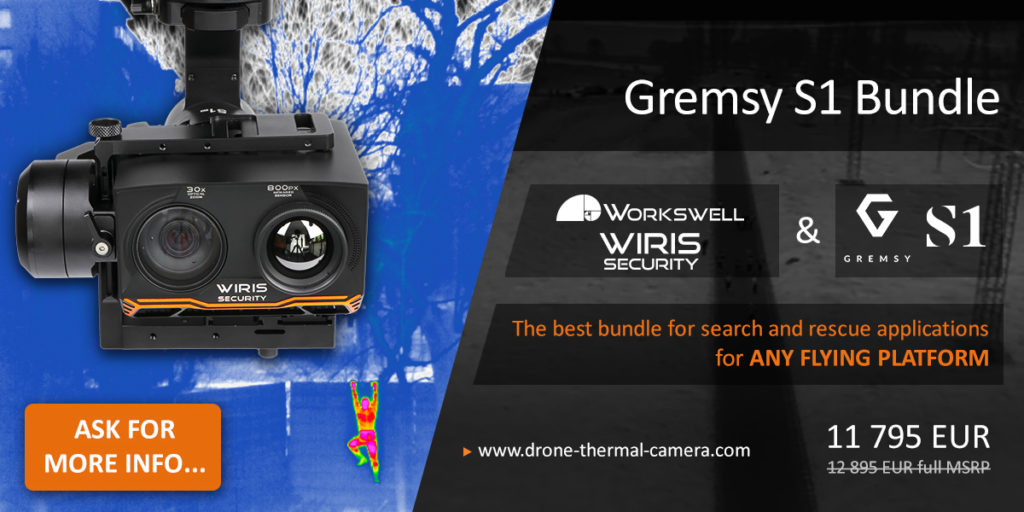 Workswell WIRIS Security + Gremsy S1