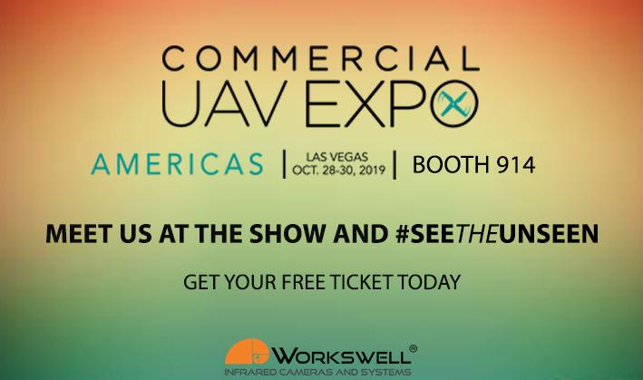 Meet workswell at UAV expo