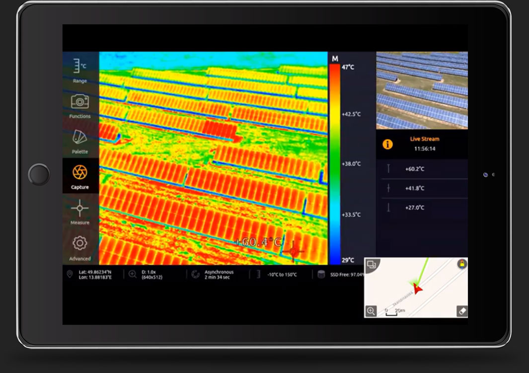 Workswell WIRIS Pro Photovoltaic inspection