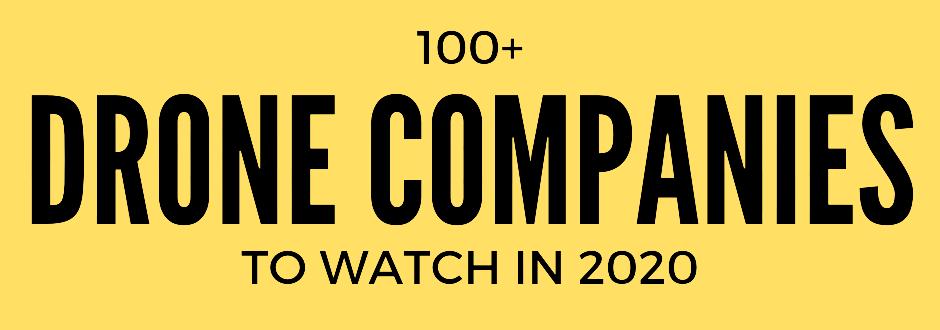 Top 100 Drone Companies