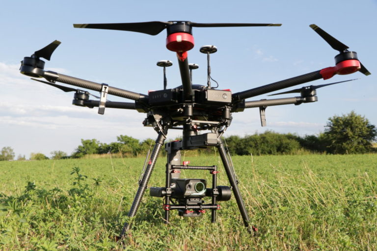 crop water stress index camera for precision agriculture