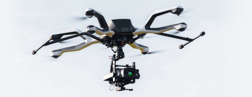 GIS-320 optical gas imaging camera for aerial inspections